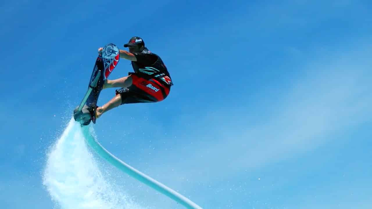 Try the Hoverboard at Nashville FlyBoard