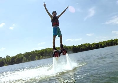 First Time Rider at Nashville FlyBoard