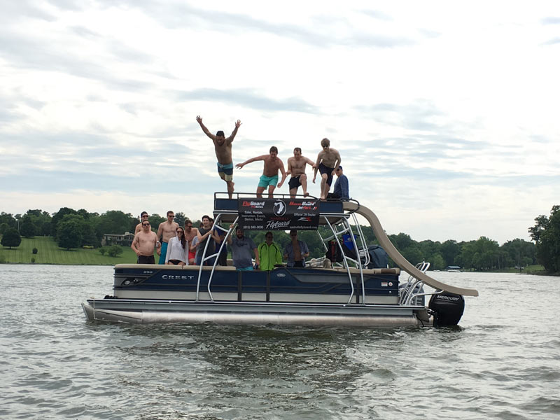 Bachelor Party Nashville Teams up with Nashville FlyBoard