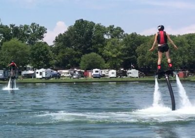 FlyBoarding at Nashville Shores