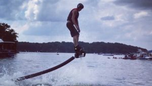FlyBoarding at Old Hickory Lake
