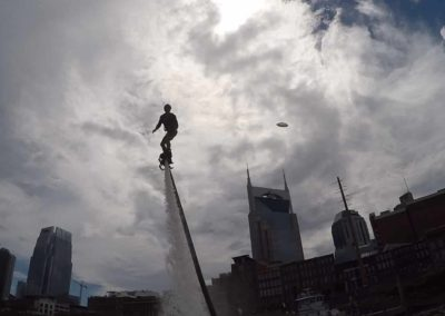 Flyboarding Downtown Nashville Tennessee