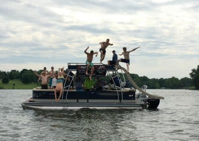 Bachelor Party Nashville & Nashville FlyBoard at Old Hickory Lake