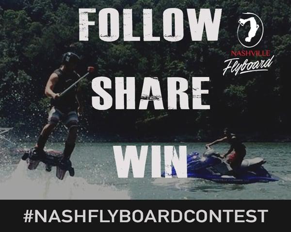 Nashville Flyboard Contest