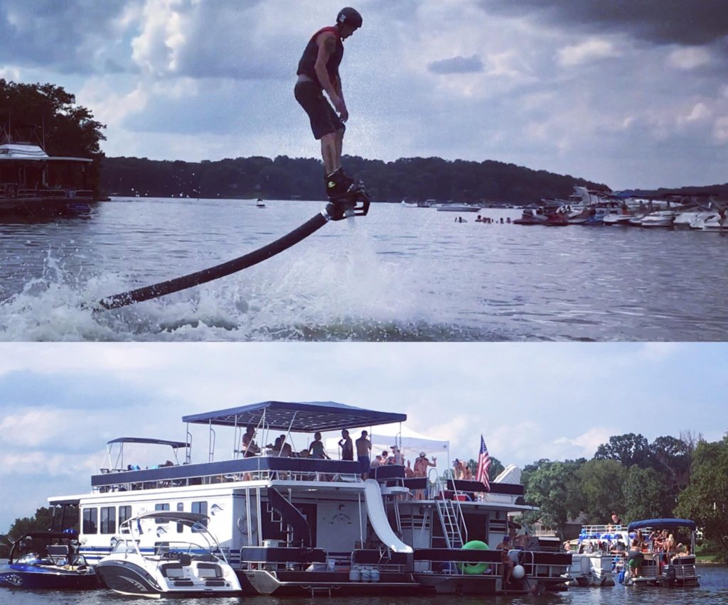 Nashville Flyboard Bahcelor Party Percy Priest