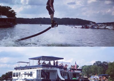 Nashville Flyboard Birthday Party at Old Hickory Lake