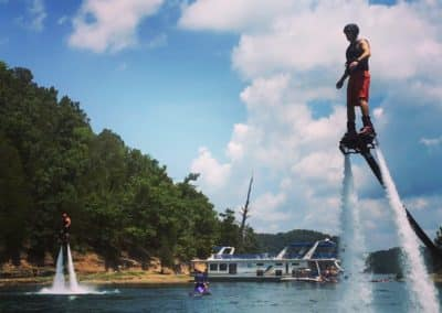 Flyboard Houseboat Party at Dale Hollow Lake