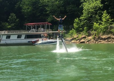 Houseboat Party Center Hill Lake FlyBoarding