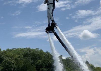 Storm Trooper Flyboarding