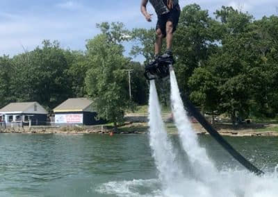 Thumbs up FlyBoarding