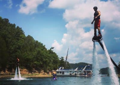 Double Riders FlyBoard Dale Hollow Lake